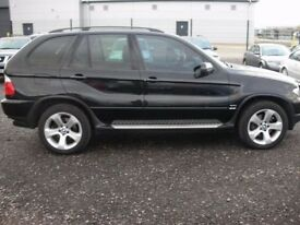 BMW X5 4.4 MODEL AUTOMATIC PETROL 4x4 EVERY EXTRA SAT NAV TV SKY TV XEONS LEATHERS 2006 !!!