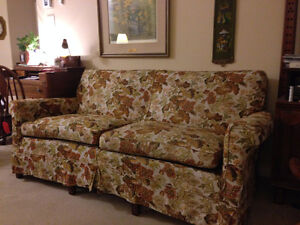 Couch/Armchair and Single Bed to Give Away