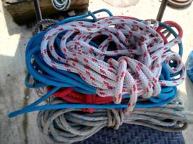 Job Lot Mooring Ropes/Halyards