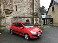 2006 Hyundai Getz 1.4 CDX 5 Door Hatchback Red