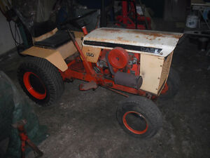 case 150 lawn tractor