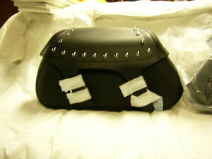 NEW STOCK Yamaha Star Accessory Studded Saddlebag Set