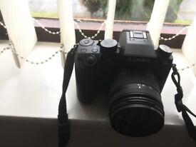 Panasonic lumix g7 camera + lots of extras