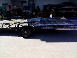 16' - 18' trailer for sale.