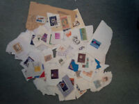 mainly used postage stamps + UK mint from early 1970s