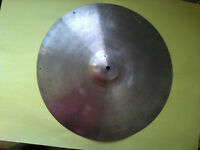 "VINTAGE Old 1950s 18"" PAISTE STANOPLE Thin CRASH Cymbal"