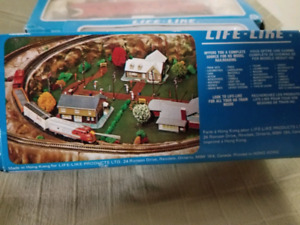 1980's   Life Link Rail Car collection