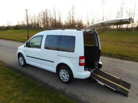2014 64 Volkswagen Caddy SWB 1.6 Tdi ONLY 3K Wheelchair Accessible Vehicle WAV