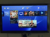 65 inch 3D flat screen with all mount