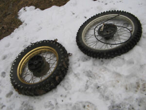 Wheels for a 1985 KLR250