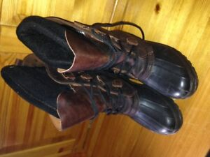 Womens Kamik Size 8 Winter Leather Uppers Boots