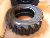 Used 12 X 16.5 Skid Steer Tires Off Bob Cat Set Of 4!