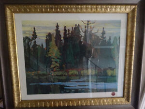 """Group of seven """"Northern forest"""" print"""