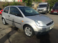 2004 FORD FIESTA 1.2 FIREFLY 3 DOOR HATCHBACK P/X TO CLEAR VERY CLEAN