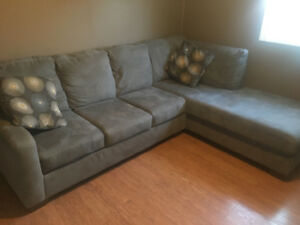 Mint condition two piece sectional!