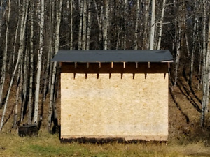 Insulated 8x12 Shed