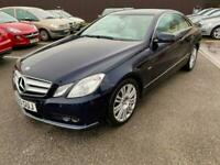 2010 Mercedes-Benz E Class E250 CDI BlueEFFICIENCY SE 2dr Tip Auto COUPE Diesel