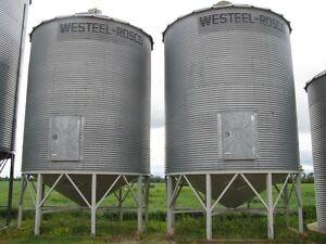 Westeel grain bins