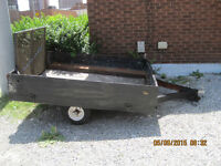 Utility trailer  6.5 x 6 for sale  WE ARE MOVING