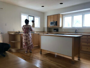 Bright Renovated 3Br East York House for Rent with Nanny Suite