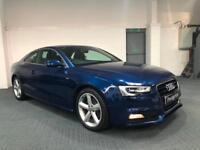 2012 62 Audi A5 2.0TDI S Line 177 BHP DIESEL 6 SPEED FASH NAPPA LEATHER SAT NAV