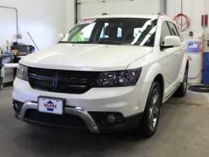 2018 DODGE JOURNEY Crossroad 7 Passenger with DVD!