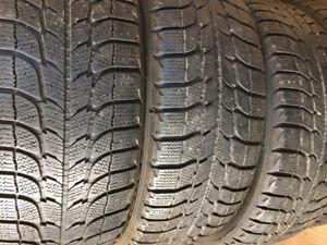 4 pneus d'hiver