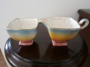 UNUSUAL ROYAL WINTON CREAM AND SUGAR SET