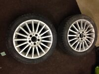 2 winter tires sottozero 225/45/17 ( 2 pneus hiver )