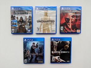 PS4 Games, Tekken, Mortal Kombat, Resident Evil, Drake, Assassin