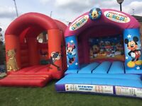 Bouncy castle popcorn & candy floss machine slush machine soft play hire in London area w