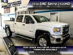 2016 GMC Sierra 2500HD Base   - $326.54 B/W