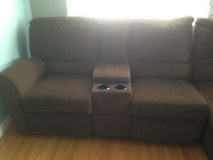 Sofa sectional with recliners St. John's Newfoundland image 2