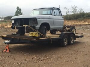 1979 cab and 1975 truck