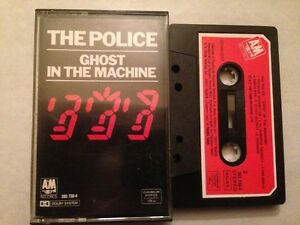 POLICE-STING-SPANISH-CASSETTE-SPAIN-GHOST-IN-THE-MACHINE
