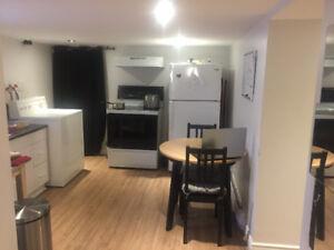 appartement à louer sous-sol