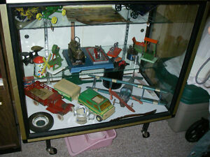 Collectible Toy Tractors,cars,bikes etc.with display cases Sarnia Sarnia Area image 4