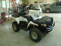 2008 POLARIS SPORTSMAN 500 2 UP 4WD $3800 TAX IN CHANGED INTO UR