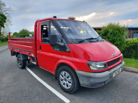 2004 FORD TRANSIT 300 PICKUP ...WITH DROPSIDE BODY