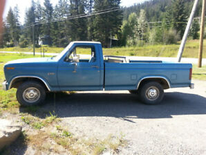 all original low mileage 1984 ford f-150