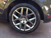 """VW """"Laguna"""" style wheels and tires"""