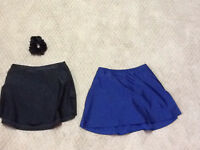 Blue /Black skating skirt