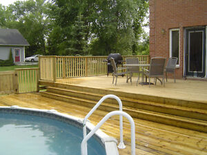 HOME-TECH FENCING AND CUSTOM DECKS 2017 Kingston Kingston Area image 1