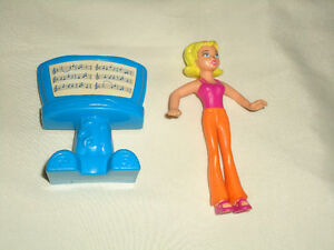 Blonde Lady and Music Stand Lot of 2!