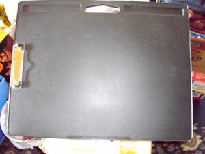 XL Student LapDesk with clip  Black