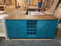 Combination Sideboard with Wine Rack Can be painted the colour of your choice