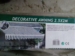 decorative awning