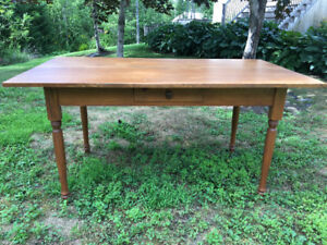 """""""Reduced"""" Handcrafted Harvest Table"""