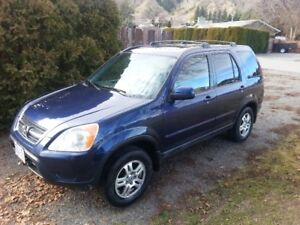 2002 Honda CR-V EX w/Leather SUV, Crossover with tow pkg