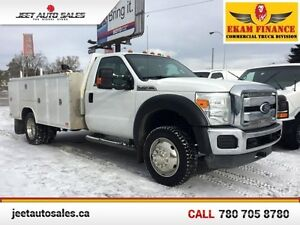 2011 Ford F-450 DRW Super Duty XLT Regular Cab 4X4 11FT Enclosed